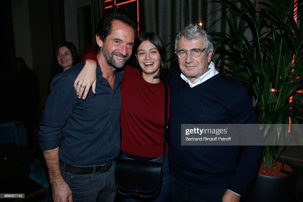 Claude Lelouch Celebrates His 80th Birthday At Restaurant Victoria In Paris