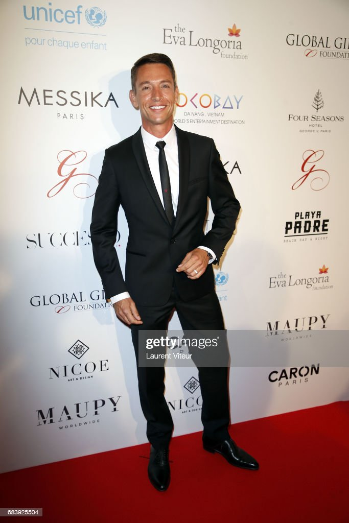 Stephane Jobert attends Global Gift Gala 2017 at Hotel George V on May 16, 2017 in Paris, France.