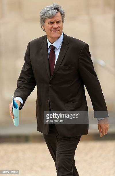 Stephane Le Foll french Minister of Agriculture and Spokesperson of the Government attends the first 'Conseil Des Ministres' of France new government...