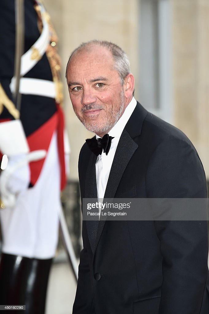 Stephane Richard, chief executive officer of Orange SA arrives at the Elysee Palace for a State dinner in honor of Queen Elizabeth II, hosted by French President Francois Hollande as part of a three days State visit of Queen Elizabeth II after the 70th Anniversary Of The D-Day on June 6, 2014 in Paris, France.