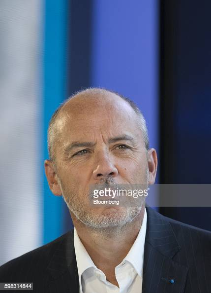 Stephane Richard chief executive officer of Orange SA pauses during a panel session at the MEDEF business conference in JouyenJosas France on...