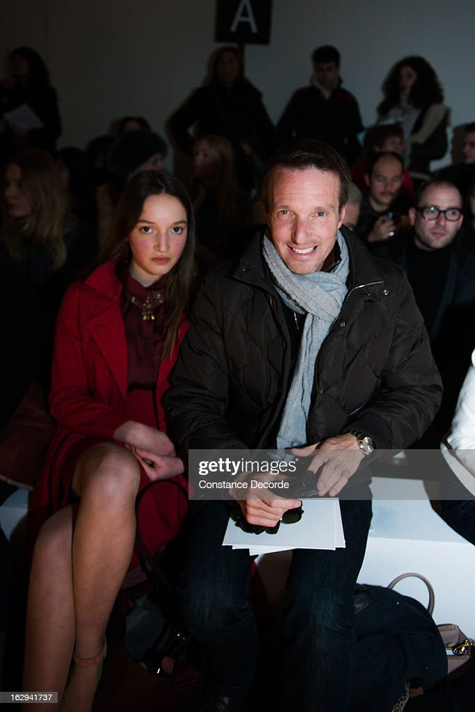 Stephane Rotenberg at the Vanessa Bruno Fall/Winter 2013 Ready-to-Wear show as part of Paris Fashion Week at Grand Palais on March 1, 2013 in Paris, France.
