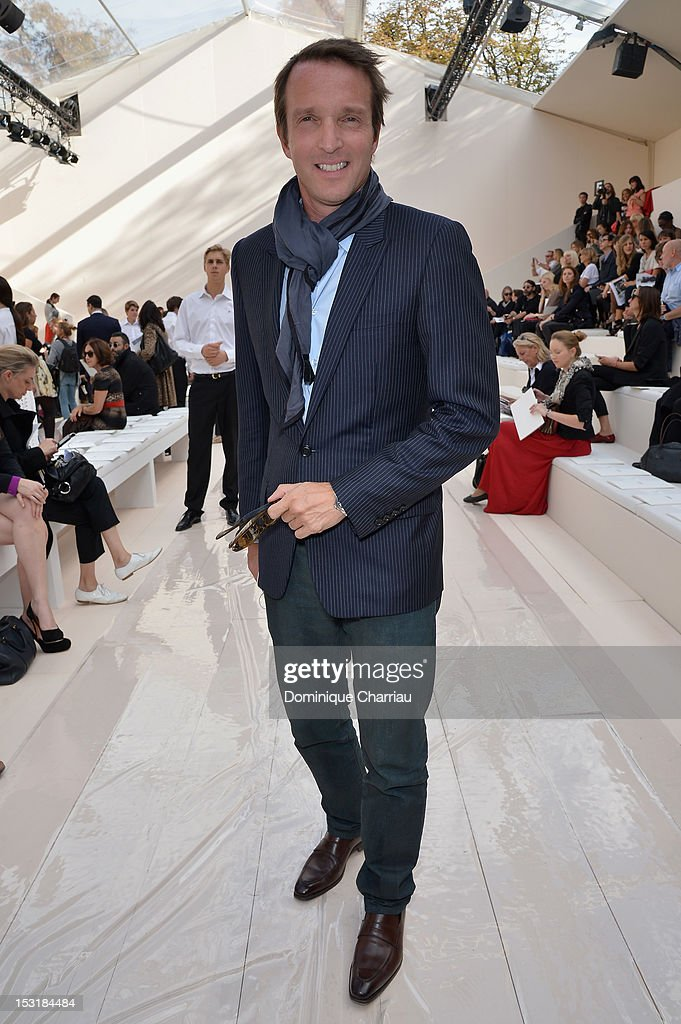 Stephane Rotenberg attends the Chloe Spring / Summer 2013 show as part of Paris Fashion Week at Espace Ephemere Tuileries on October 1, 2012 in Paris, France.