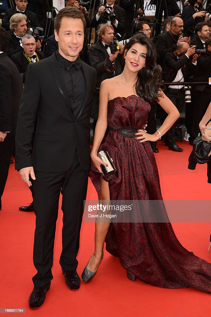 Stephane Rousseau and Reem Kherici attend the 'Jeune & Jolie' premiere during The 66th Annual Cannes Film Festival at the Palais des Festivals on May 16, 2013 in Cannes, France.