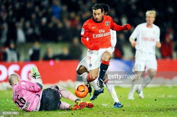 Stephane RUFFIER / Ludovic GIULY Paris Saint Germain / Monaco 18e journee Ligue 1