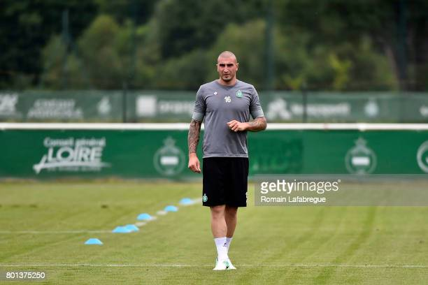 Stephane Ruffier of Saint Etienne during the training session of AS SaintEtienne on June 26 2017 in SaintEtienne France