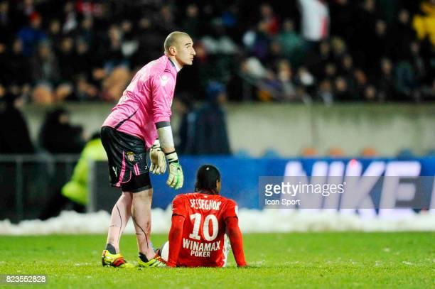 Stephane RUFFIER / Stephane SESSEGNON Paris Saint Germain / Monaco 18e journee Ligue 1