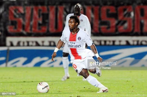 Stephane SESSEGNON 01 112008 Nice / PSG 12eme journee de Ligue 1