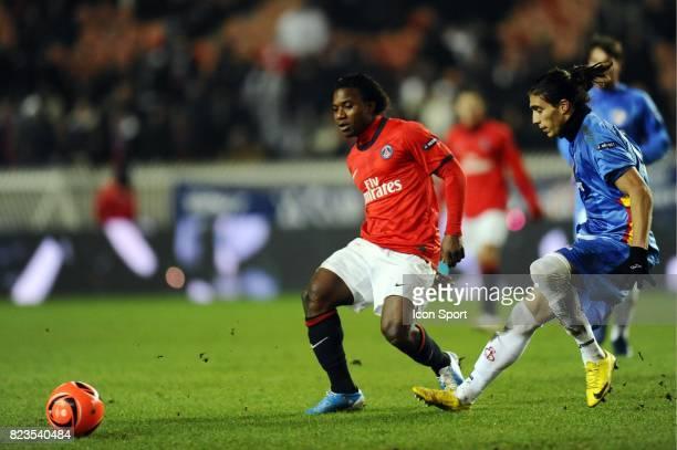 Stephane Sessegnon Paris Saint Germain / FC Seville Europa League