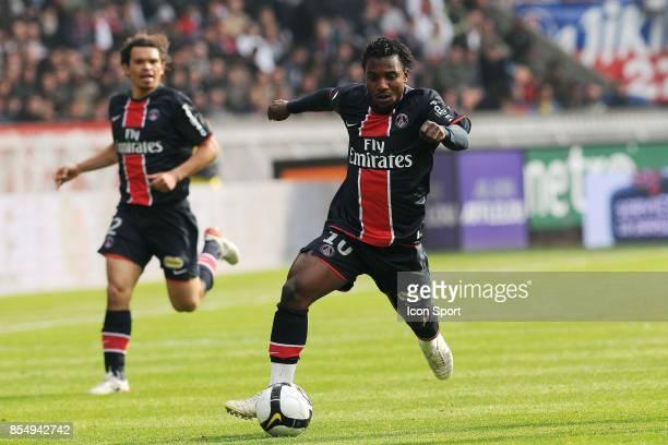 Stephane SESSEGNON PSG / Rennes 34eme journee de Ligue 1 Parc des Princes Paris