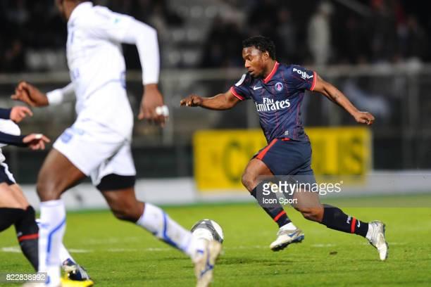 Stephane SESSEGNON Auxerre / PSG 31eme journee de Ligue 1 Stade de l Abbe Deschamps Auxerre