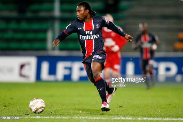 Stephane SESSEGNON Valenciennes / PSG 1/4 Finale Coupe de la Ligue 2010/2011