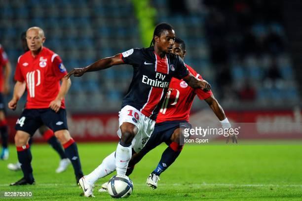 Stephane Sessegnon Lille / PSG 2eme journee de Ligue 1 Stadium de Villeneuve d'ascq