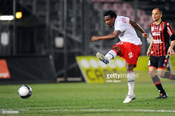 Stephane SESSEGNON Nice / Paris Saint Germain 29e journee Ligue 1 Stade du Ray Nice