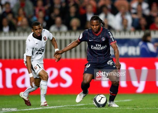 Stephane SESSEGNON Paris Saint Germain / Rennes 34eme journee de Ligue 1 Parc des Princes Paris