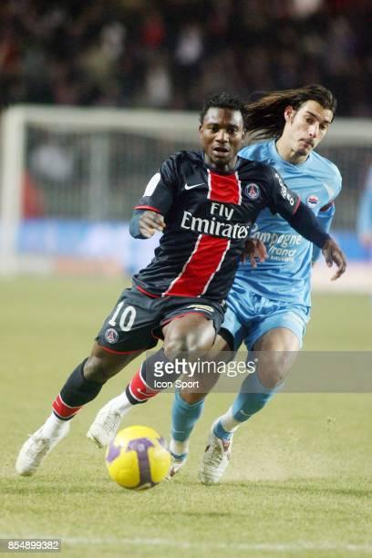 Stephane SESSEGNON PSG / Caen 22 eme journee de Ligue 1