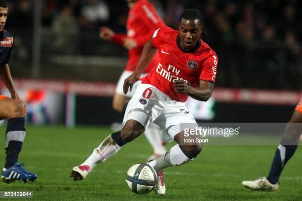 Stephane SESSEGNON Montpellier / PSG 11eme journee de Ligue 1