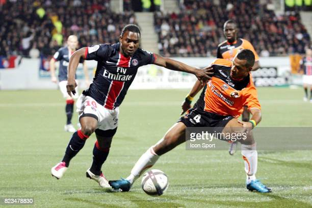 Stephane SESSEGNON / Alaixys ROMAO Lorient / Paris Saint Germain 13e journee Ligue 1