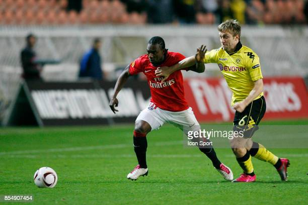 Stephane SESSEGNON / Jakub BLASZCZYKOWSKI PSG / Dortmund Ligue Europa 2010/2011