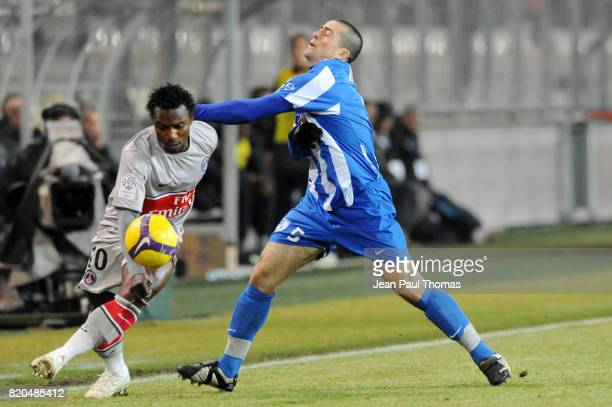 Stephane SESSEGNON / Martial ROBIN Grenoble / Paris Saint Germain 25e journee French League 1