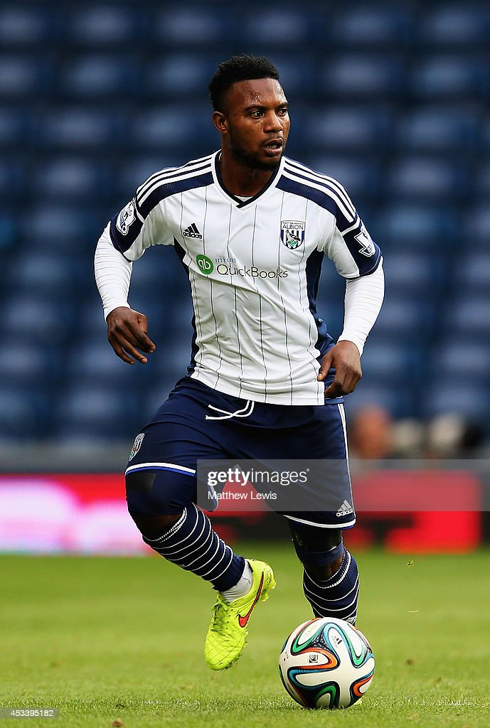 Stephane Sessegnon of West Bromwich Albion in action during the Pre Season Friendly match between West Bromwich Albion and FC Porto at The Hawthorns on August 9, 2014 in West Bromwich, England.