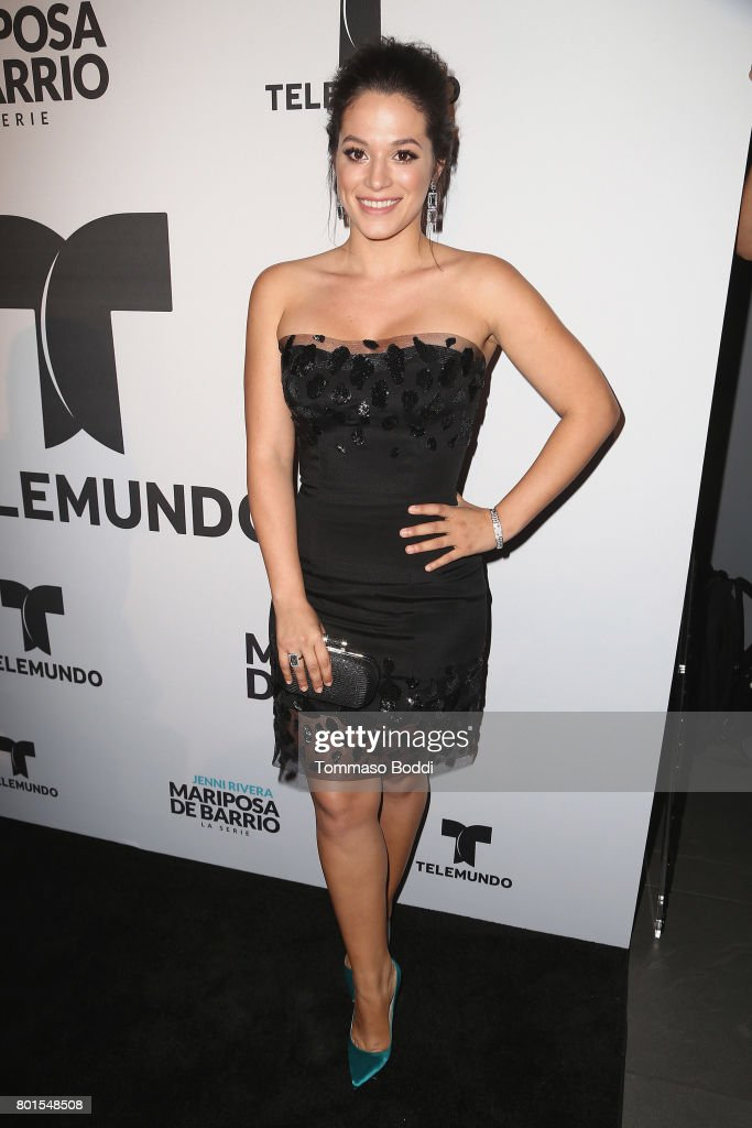 Stephanie Arcila attends the Screening Of Telemundo's 'Jenni Rivera: Mariposa De Barrio' at The GRAMMY Museum on June 26, 2017 in Los Angeles, California.