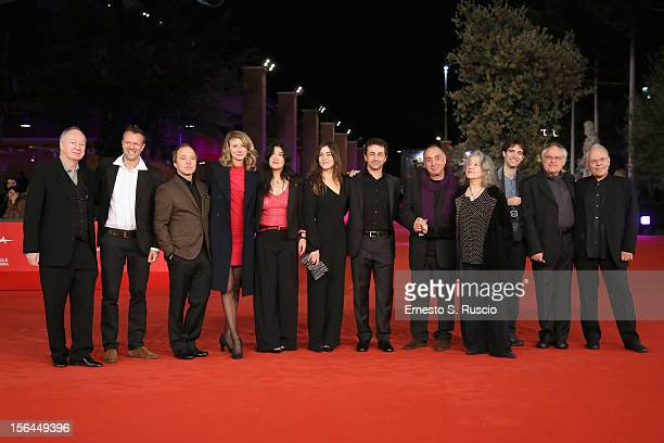 Stephanie Argerich and Lyda Chen Martha Argerich Stephen Kovacevich and guests attend the 'Bloody Daughter' Premiere during the 7th Rome Film...