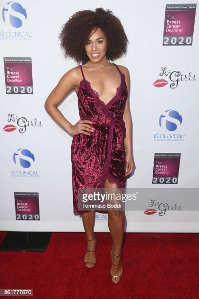 Stephanie Ballena attends the 17th Annual 'Les Girls' at Avalon on October 15 2017 in Hollywood California