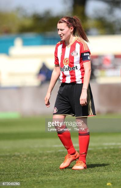 Stephanie Bannon of Sunderland Ladies during the match between Birmingham City and Sunderland Ladies in The WSL Spring Series at The Automated...