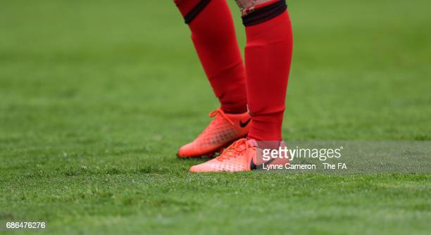 Stephanie Bannon of Sunderland Ladies during the WSL 1 match between Sunderland AFC Ladies and Chelsea Ladies FC at Hetton Centre on May 21 2017 in...