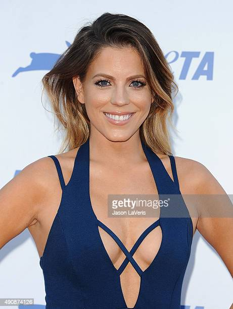 Stephanie Bauer attends PETA's 35th anniversary party at Hollywood Palladium on September 30 2015 in Los Angeles California