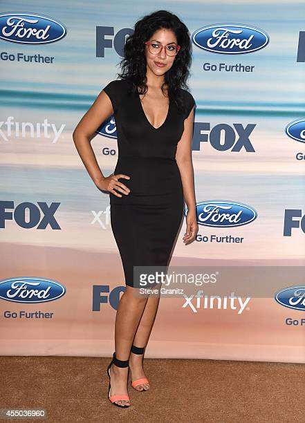 Stephanie Beatriz arrives at the 2014 FOX Fall EcoCasino Party at The Bungalow on September 8 2014 in Santa Monica California