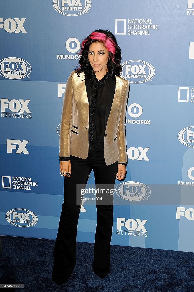 Stephanie Beatriz attends 2015 FOX Programming Presentation at Wollman Rink, Central Park on May 11, 2015 in New York City.