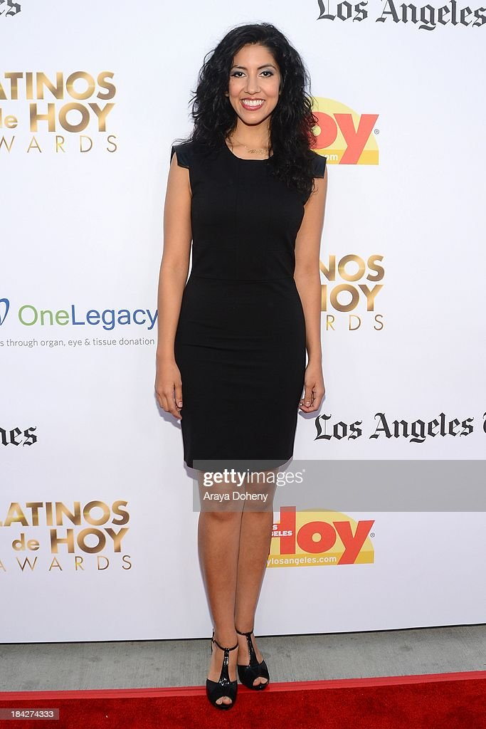 Stephanie Beatriz attends the 2013 Latinos de Hoy Awards at Los Angeles Times' Chandler Auditorium on October 12, 2013 in Los Angeles, California.