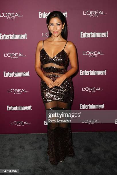 Stephanie Beatriz attends the Entertainment Weekly's 2017 PreEmmy Party at the Sunset Tower Hotel on September 15 2017 in West Hollywood California