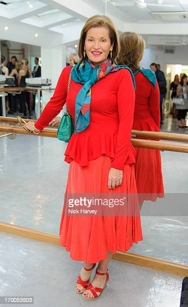 Stephanie Beecham attends the launch party for the BARREtoned studio on June 6 2013 in London England