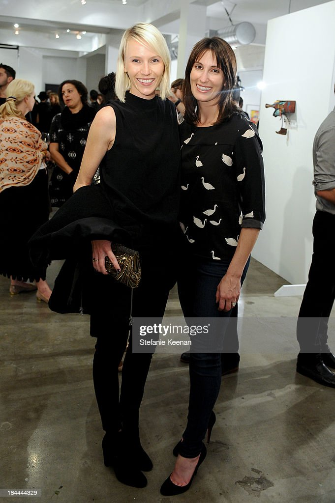 Stephanie Bugler and Robin Segel attend The Mistake Room's Benefit Auction on October 13, 2013 in Los Angeles, California.