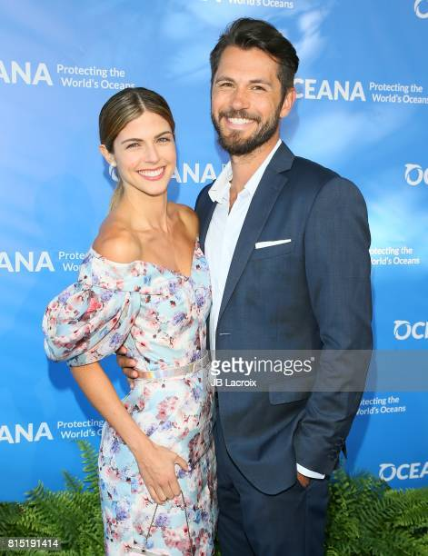 Stephanie Cayo attends the 10th Annual Oceana SeaChange Summer Party on July 15 2017 in Laguna Beach California