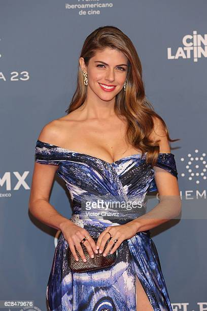 Stephanie Cayo attends the Premio Iberoamericano De Cine Fenix 2016 at Teatro de La Ciudad on December 7 2016 in Mexico City Mexico