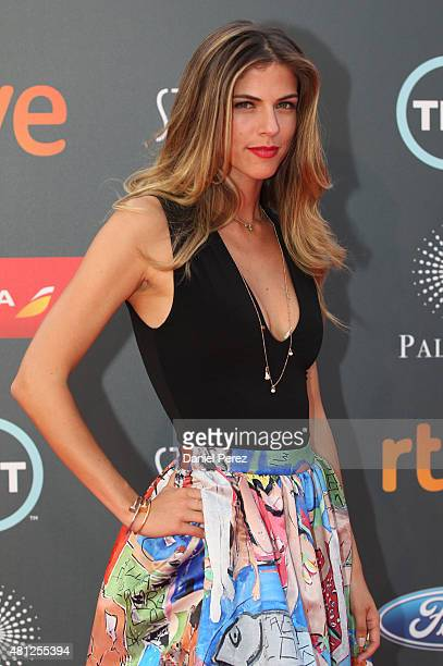 Stephanie Cayo attends TNTLA Platino Awards 2015 at Starlight Marbella on July 18 2015 in Marbella Spain