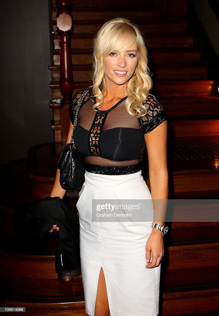 Stephanie Conley arrives for the Chandon Supper Club after party at The ArtHouse on May 20, 2010 in Sydney, Australia.