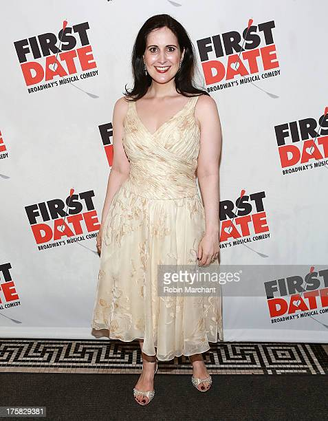 Stephanie D'Abruzzo attends 'First Date' Broadway Opening Night at Longacre Theatre on August 8 2013 in New York City