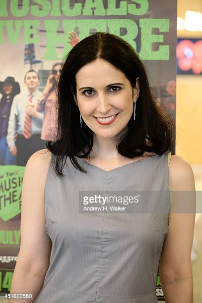 Stephanie D'Abruzzo attends The New York Musical Theatre Festival 2014 Preview at The Pershing Square Signature Center on July 2 2014 in New York City
