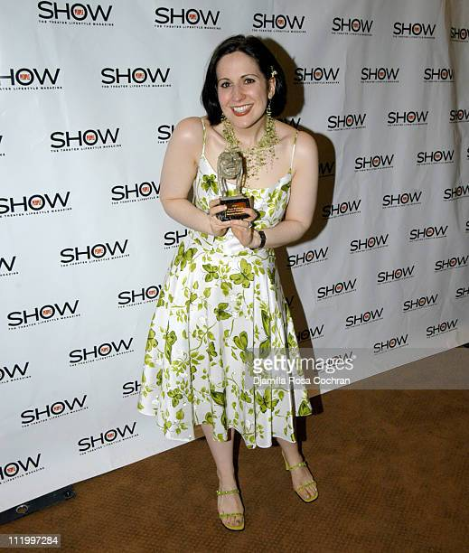 Stephanie D'Abruzzo during 1st Annual 'Show People' Tony Awards Party at Gotham Hall in New York City New York United States