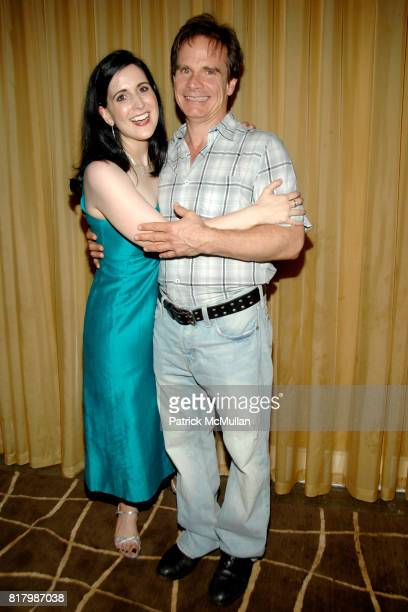 Stephanie D'Abruzzo Peter Scolari and attend IT MUST BE HIM Opening Night at The Peter Jay Sharp Theatre on September 1 2010 in New York City