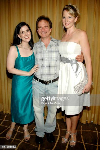 Stephanie D'Abruzzo Peter Scolari and Jessica Tyler Wright attend IT MUST BE HIM Opening Night at The Peter Jay Sharp Theatre on September 1 2010 in...