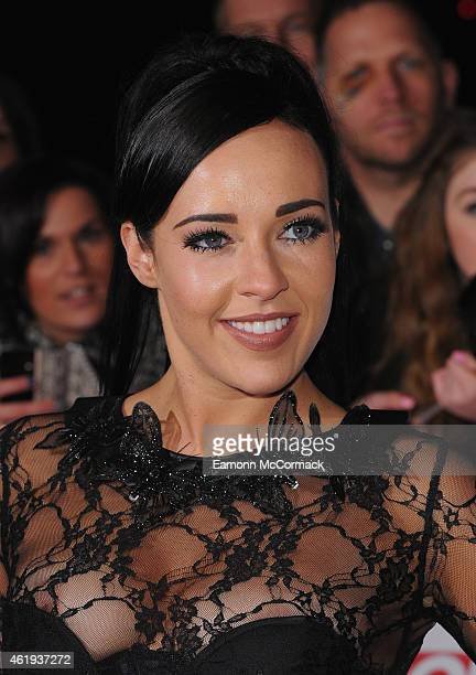 Stephanie Davis attends the National Television Awards at 02 Arena on January 21 2015 in London England