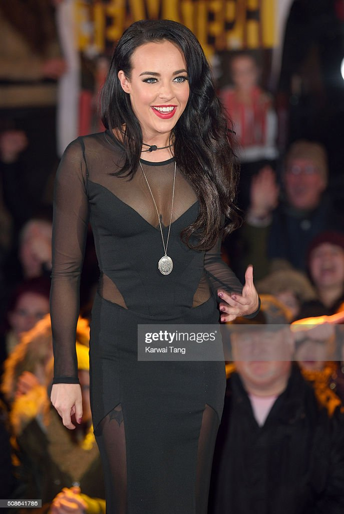 Stephanie Davis is evicted from the Big Brother house at Elstree Studios on February 5, 2016 in Borehamwood, England.