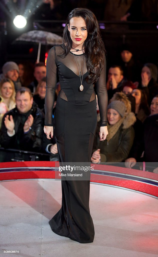 Stephanie Davis is evicted from the Celebrity Big Brother House at Elstree Studios on February 5, 2016 in Borehamwood, England.