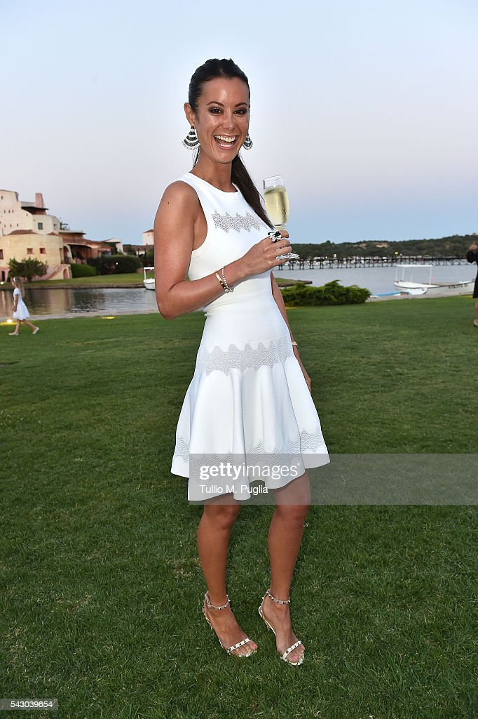 Stephanie Desmond attends the Gala Dinner during The Costa Smeralda Invitational golf tournament at Pevero Golf Club - Costa Smeralda on June 25, 2016 in Olbia, Italy.